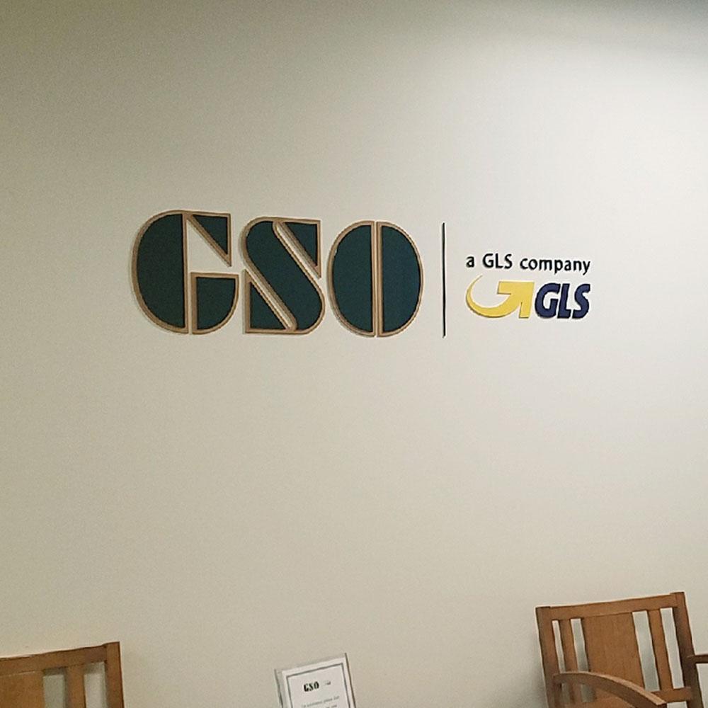GSO Wall Logo