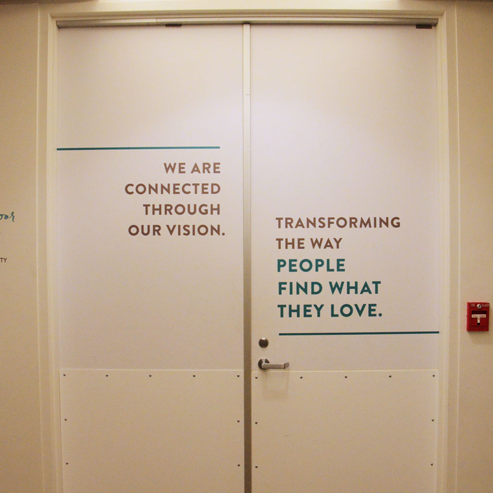 Stitch Fix Door Graphics