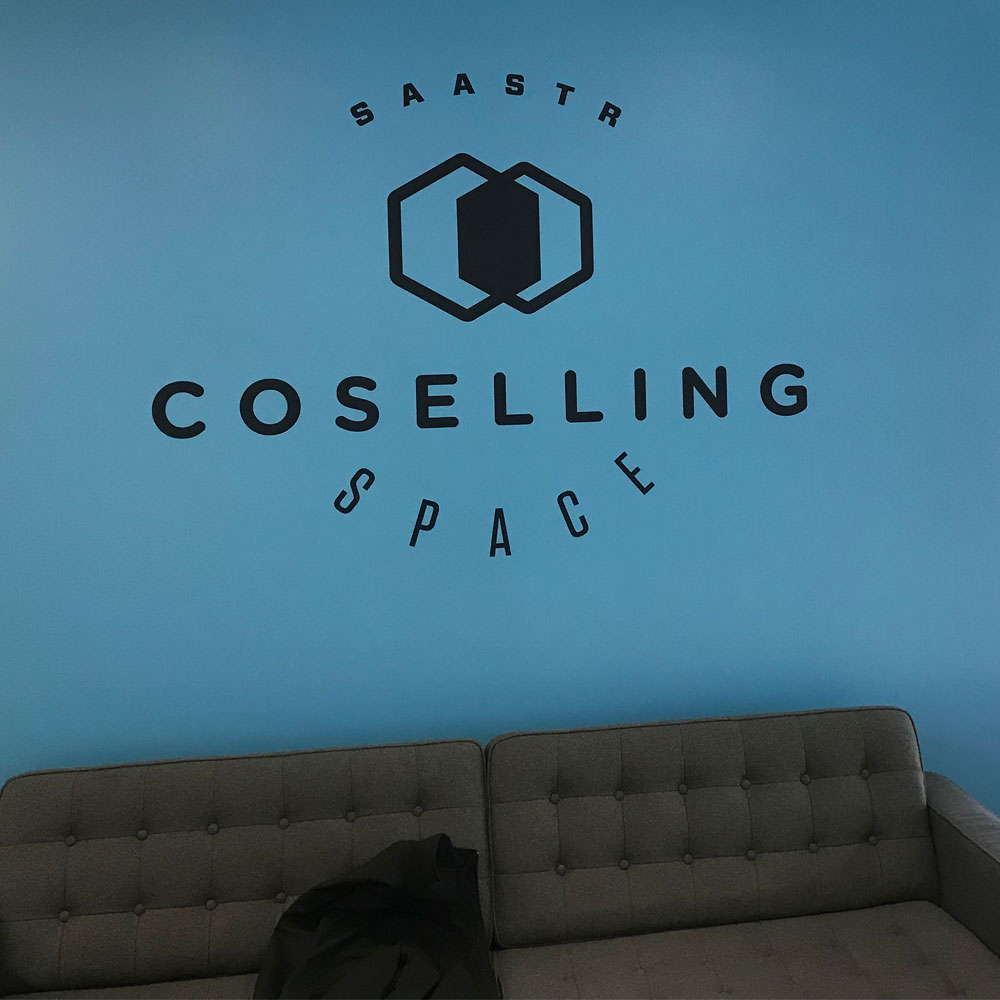 SaaStr Wall Graphics